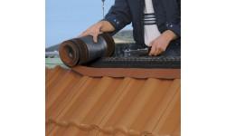 Closoir de ventilation souple DELTA-ECO ROLL 310 mm noir 5 m