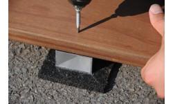COBRA - Vis inox autoforante A4 pour lambourde aluminium