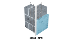 Profilé d'angle fils soudés en acier galvanisé avec jonc PVC