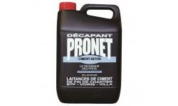 Pronet décapant ciment nettoyant laitance voile ciment 5 L