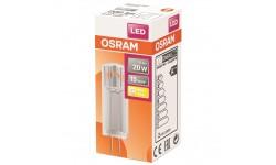 Ampoule LED capsule claire 1.8 W 200 LM G4 chaud