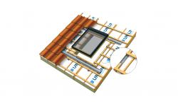 UNI Access : le chevêtre pour fenêtre de toit des solutions d'isolation Usystem