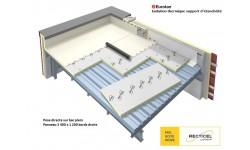 Eurotan®, isolation thermique support d'étanchéité sur acier ou bois