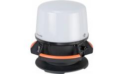 Brennenstuhl professionalLINE Projecteur de chantier LED ORUM hybride 360°, 5700 lumens IP65