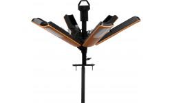 Brennenstuhl professionalLINE Projecteur LED portable 360° R23050, 6,7m H07RN-F 3G1.0 + 3,3m H05RN-F 2x1.0, 23500lm