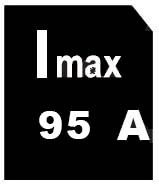 intensité max 95
